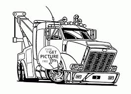 100 Best Semi Truck Coloring Books And Pages Splendi Image Ideas Of S