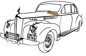 Classic Art Coloring Book Car Free Pages On
