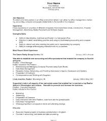 Resume Objective For Project Manager Great Engineering