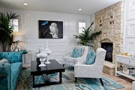 turquoise paint colors country living room benjamin moore