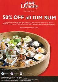 cuisine en promo 50 all dim sum promo at dynasty restaurant home is where my