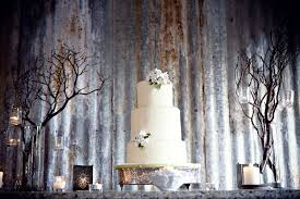 Rustic Wedding Cake Backdrops Vista West Ranch Chic Venue In The Hill Country