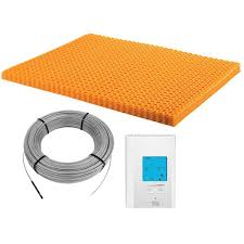 Warm Tiles Easy Heat Thermostat by Thermostats U0026 Controls Under Floor Heating The Home Depot