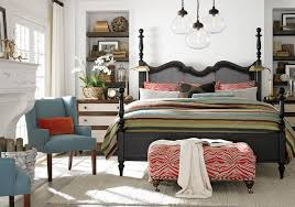 Highlands Poster Bed by Bassett Furniture Contemporary Bedroom