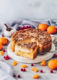 veganer mandarinen schmand kuchen