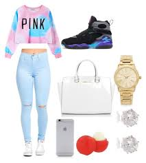 56 Best Polyvore Images On Pinterest Blue Jordans How To Wear Outfits With