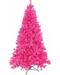 Vickerman 7 Pre Lit Hot Pink Full Artificial Sparkling Tinsel Christmas Tree