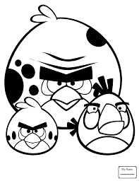 Easter Terence Bird Cartoons Angry Birds Coloring Pages
