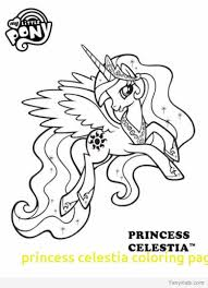 My Little Pony Coloring Pages Princess Celestia In A Dress 2512777