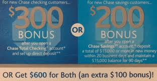 Expired] $600 Bank Bonus From Chase! - Danny The Deal Guru Bank Account Bonuses Promotions October 2019 Chase 500 Coupon For Checking Savings Business Accounts Ink Pferred Referabusiness Chasecom Success Big With Airbnb Experiences Deals We Like Upgrade To Private Client Get 1250 Bonus Targeted Amazoncom 300 Checking200 Thomas Land Magical Christmas Promotional Code Bass Pro How Open A Gobankingrates New Saving Account Coupon E Collegetotalpmiersapphire Capital 200 And Personalbusiness
