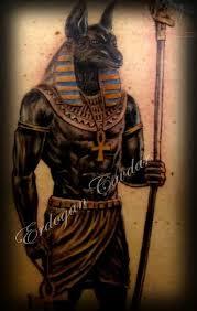 Egyptian God Tattoos All Black