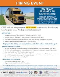 CRST Training School Provides Prospective Commercial Drivers