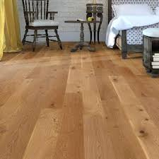 Engineered Oak Flooring Lacquered Wood Thick Wear Layer
