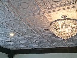 white tin ceiling tiles dining fashionable white tin ceiling