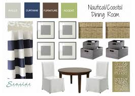 Nautical Coastal Dining Room Design