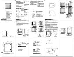 10x10 Shed Plans Blueprints by Talen