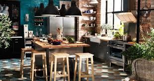 cuisine industrielle une cuisine à la déco industrielle