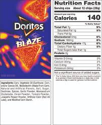 DORITOSR BLAZETM Flavored Tortilla Chips