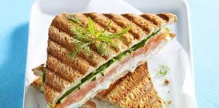 boursin cuisine recettes croque monsieur au saumon et au boursin facile et pas cher