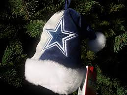 Dallas Cowboys 4quot Mini Santa Hat Christmas Tree Ornament