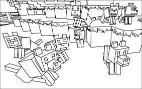Minecraft Coloring Pages 36