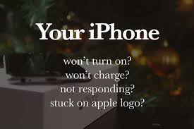 iPhone 5 5s 5c 6 won t turn on or charge or stuck on apple