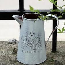 Image Is Loading MagiDeal Rustic Metal Flower Buckets Plants Hydroponic Pot