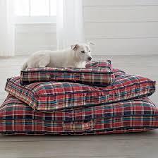 Harry Barker Dog Bed by Plaid Dog Bed Korrectkritterscom