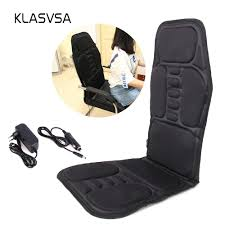 KLASVSA Electric Back Massager Chair Cushion Vibrator Portable Home Car  Office Neck Lumbar Waist Pain Relief Seat Pad Relax Mat Snailax Shiatsu Neck And Back Massager With Heat Deep Tissue Portable Rechargeable Wireless Handheld Hammer Pads Stimulator Pulse Muscle Relax Mobile Phone Connect Urban Kanga Car Seat Grelax Ez Cushion For Thigh Shoulder New Chair On Carousell 6 Reasons Why Osim Ujolly Is The Perfect Full Klasvsa Electric Vibrator Home Office Lumbar Waist Pain Relief Pad Mat Qoo10 Amgo Steam Sauna 9007 Foot Amazoncom Massage Chair Back Massager Kneading Yuhenshop Foldable Portable Feet Care Pad Modes 10 Intensity Levels To Relax Body