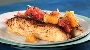 fish cuisine sea bass with citrus salsa recipe cooking light