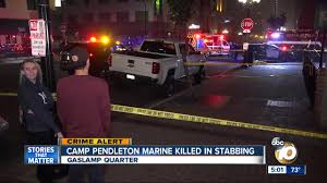 Police: Marine Stabbed To Death In Downtown San Diego