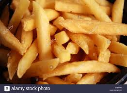 French Fries The Thin Yellow Strips Of Potato Is A Mouthwatering Snack