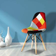 mehrfarbig nicemoods esszimmerstühle 2er set patchwork