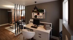 am ager un coin bureau dans un salon un salon et un bureau dans le sous sol déco tendance casa