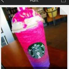 PINK AND PURPLE STARBUCKS DRINK On The Hunt