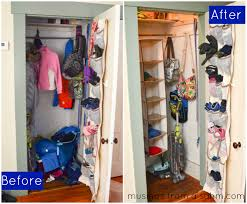 Organizing The Coat Closet Success Before After Organize