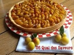 tarte aux mirabelles à la pâte sucrée de christophe michalak 36