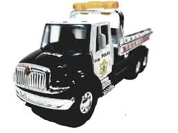 100 Flatbed Tow Trucks For Sale Amazoncom Showcasts Black White Police Truck