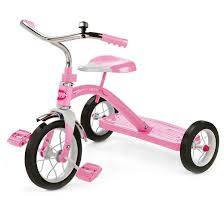 radio flyer 10 classic tricycle pink target