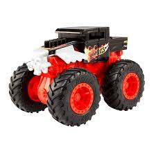 100 Monster Trucks Crashing Hot Wheels BashUps Bone Shaker The Entertainer