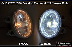 camaro 5202 plasma led fog light bulbs pair w lifetime warranty