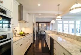 Galley Kitchen With Island Floor Plans Design Layout Designs Kitchens Full Size Of Ideas Modern Desig