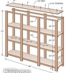 storage shelf for the basement making wood shelves for garage