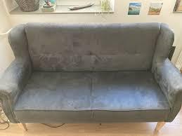 esszimmer sofa 3 sitzer grau