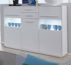 kommode in weiß glanz wohnzimmer sideboard esszimmer