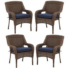 Hampton Bay Cambridge Brown Resin Wicker Outdoor Dining Chairs With ... Cantik Gray Wicker Ding Chair Pier 1 Rattan Chairs For Trendy People Darbylanefniturecom Harrington Outdoor Neptune Living From Breeze Fniture Uk Corliving Set Of 4 Walmartcom Orient Express 2 Loom Sand Rope Vintage Weng With Seats By Martin Visser For T Amazoncom Christopher Knight Home 295968 Clementine Maya Grey Wash With Cushion Simply Oak Practical And Beautiful Unique Cane Ding Chairs Garden Armchair Patio Metal