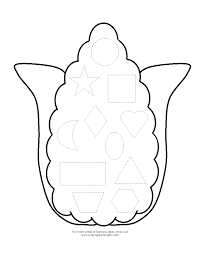 Fancy Candy Corn Coloring Page 66 On Line Drawings With