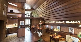 100 Frank Lloyd Wright Houses Interiors House Near Ann Arbor Is A Small Masterpiece