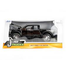 Just Trucks Series: 2017 Ford F-150 Raptor (Black) 1/24 Scale
