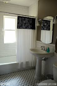 Quickie In The Bathroom by Quickie Bathroom Refresh New Shower Curtain And Repainted